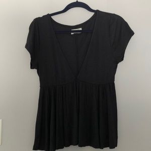 Urban outfitters Deep V Top
